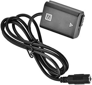 Mugast Np Fw50 Dummy Battery Adapter Battery Dc Power Elektronik