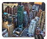 midtown on the eastside of manhattan hdr Mouse Pad, Mousepad (Skyscrapers Mouse Pad)