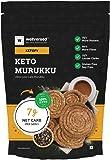 Ketofy - Keto Murukku (250g) | 100% Authentic Taste