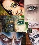 Farbige Kontaktlinsen Crazy Color Fun Contact Lenses 'Red Demon' perfekt zu Fasching, Karneval und Halloween Topqualität inkl. 60 ml Pflegemittel und Linsenbehälter Bild 1