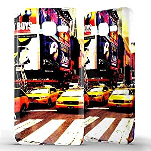 1001 Coques - Coque silicone Samsung Galaxy Grand Prime / VE New York Taxi
