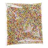 Clarashop - Sfere di polistirolo in Schiuma, Palline Colorate per riempimento, Decorazione per Floam Filler Arti Artigianato Forniture Mousse Perla Palla DIY Mini Ball (Multicolore)