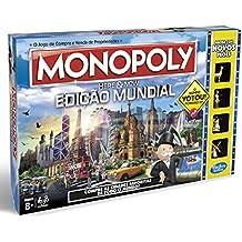 Hasbro Gaming - Juego en familia Monopoly Edición Mundial (B2348521) (versión portuguesa)