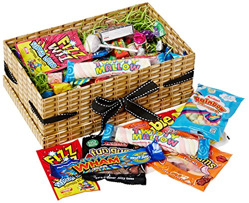 100 Pieces Happy Birthday Mega Retro Sweets Treasure Box