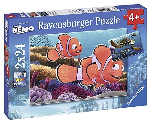 Ravensburger 09044 - Disney Finding Nemo: Nemos Abenteuer - 2 x 24 Teile Puzzle