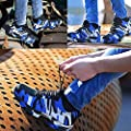 XIAO LONG Damen Herren Sicherheitsschuhe Arbeitsschuhe Atmungsaktiv Stahlkappe Schutzschuhe Traillaufschuhe für Sommer