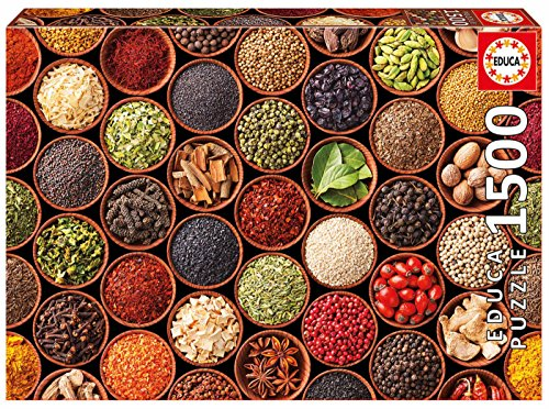 Educa Borrás - Puzzle 1500 Especias y Condimentos (17666)