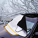 Car Windscreen Snow Cover, FREESOO Windshield Frost Covers Anti Foil Ice Dust Sun