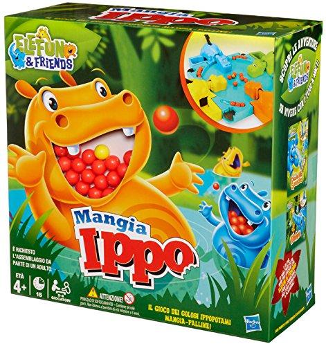 Hasbro gaming - mangia ippo (versione 2016) (gioco in scatola), 98936103