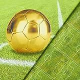 Fabulous Fabrics Digitaldruck Panel Goldener Fußball Panel