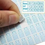 #6: Generic 600x 2017 - 2019 Warranty Void If Damaged Protection Security Label Sticker Seal
