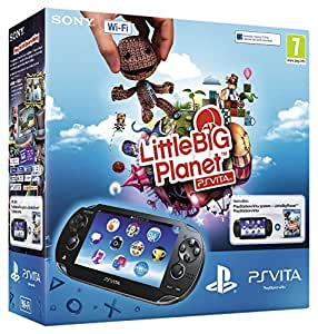 Console Playstation Vita Wifi + Little big planet Voucher + Carte mémoire 4 Go