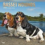 Basset Hounds - Bassets 2018 - 18-Monatskalender mit freier DogDays-App: Original BrownTrout-Kalender  (Wall-Kalender) hier kaufen