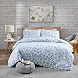 Urban Habitat Halsey Bettwäsche-Set mit Bett- und Kissenbezug, blau, Einzelbett