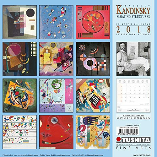 Wassily Kandinsky Floating Structures 2018