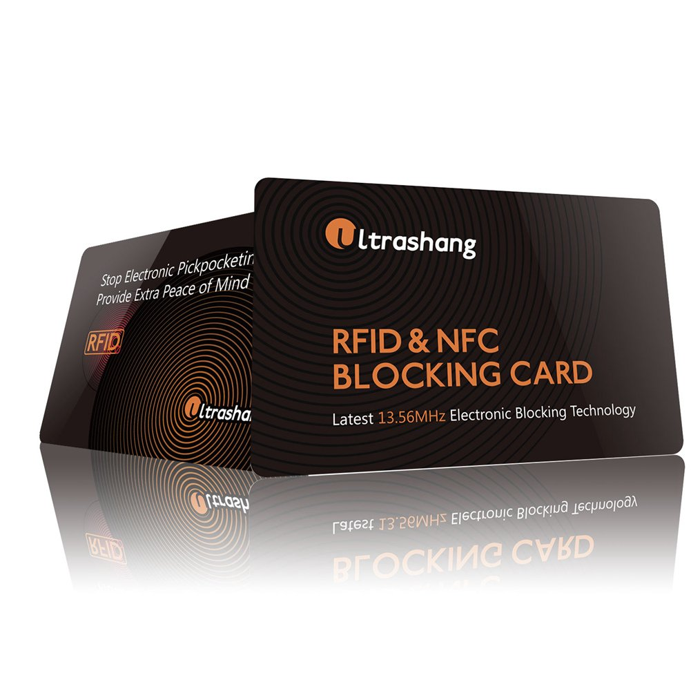 623d48f63389 RFID/NFC Blocking Card | Credit Card Protector | Ultimate Solution for  Protect Entire Wallet Purse Holder, Contactless Card Protection for Bank  Debit ...