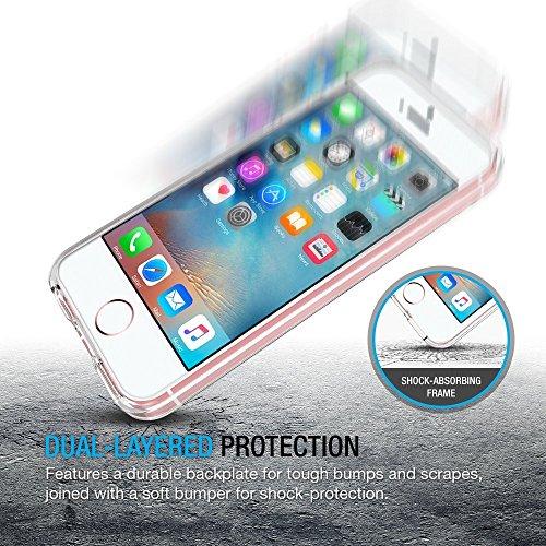 Coque iPhone SE / 5 / 5S, iVoler [ ULTRA TRANSPARENTE SILICONE EN GEL TPU SOUPLE ] Housse Etui Coque de Protection avec Absorption de Choc et Anti-Scratch pour iPhone SE / 5 / 5S Transparent
