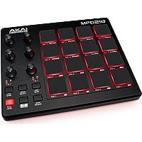 AKAI Professional MPD218, Ultra portabler USB MIDI Controller mit 16 MPC Pads, Regler und Software Paket