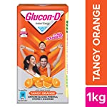 Glucon-D Glucose Based Beverage Mix - 1 kg Carton (Orange)