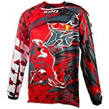 Kini Red Bull Revolution - Maillot manches longues - rouge Modèle M 2017 tee shirt manches longues homme