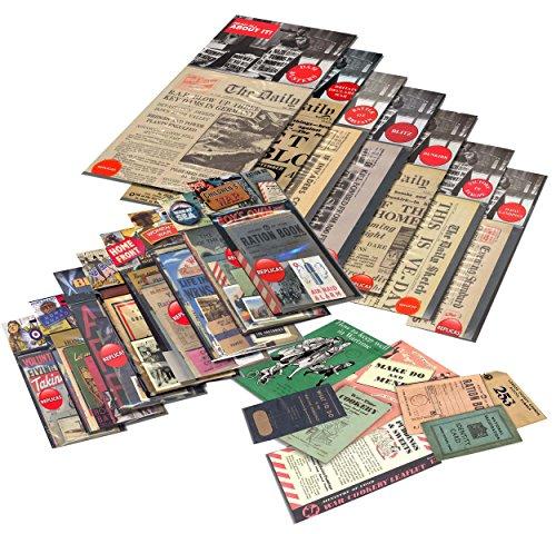 World War 2Bumper Stück Kuriositäten Packungen, Zeitungen und mehr