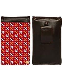 Nutcase Designer Travel Waist Mobile Pouch Bag For Men, Fanny Pack With Belt Loop & Neck Strap-High Quality PU... - B075N7DZCJ