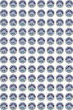 #10: VishYogi Printers - Tested O.K. Round Sticker for General Use – 15MM Round (2000)
