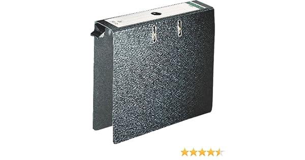 RC H/ängeschwenkb/ügel aus Kunststoff POM A4, R/ückenbreite 8 cm, Griffloch, Hartpappe Centra H/ängeordner schwarz
