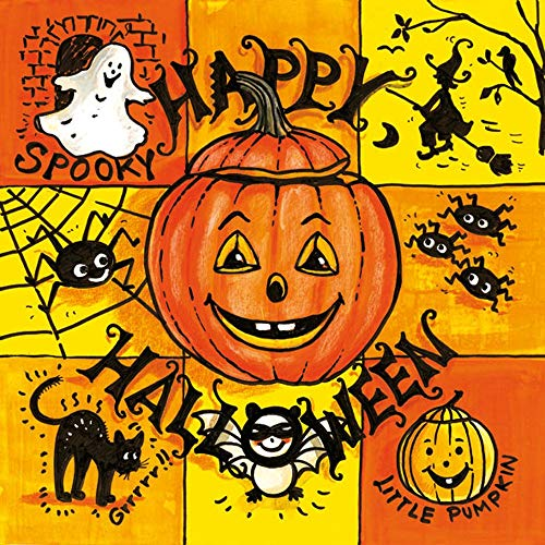 Ambiente - Servietten - Happy Halloween - Herbst / Katze / Hexe / Spinne (Happy Halloween N)
