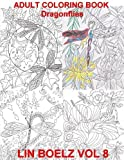 Adult Coloring Book Dragonflies by Lin Boelz (2016-07-21)
