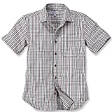 Carhartt Workwear Arbeitshemd - Slim Fit Plaid Shirt - Sand (M)