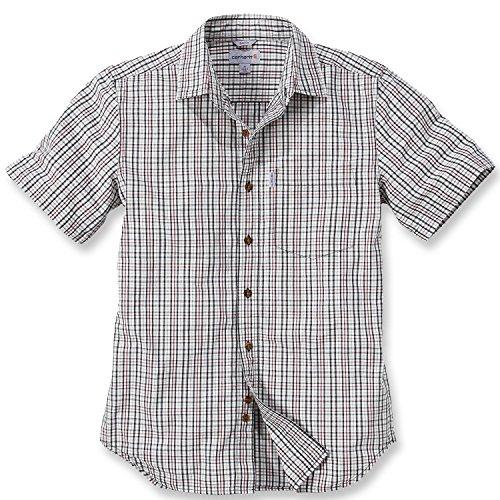 Carhartt Workwear Arbeitshemd - Slim Fit Plaid Shirt - Sand (XXL)