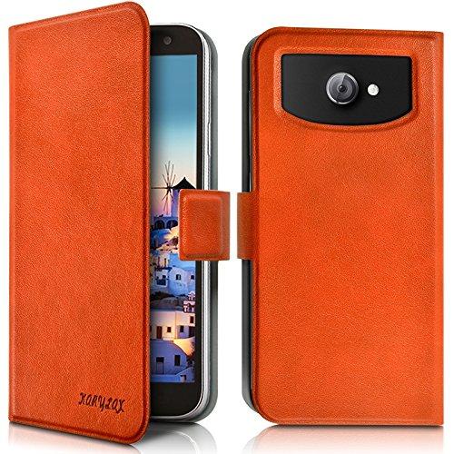 8205859fe91 Seluxion - Housse Etui Universel S couleur orange pour Orange Rise 33