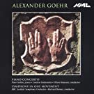 Alexander Goehr - Piano Concerto; Symphony in One Movement