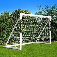 FORZA - 1,8 x 1,2 m wetterfestes Fußballtor. Neu: auch mit abnehmbarer Torwand bestellbar! [Net World Sports]