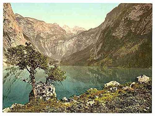 the-lake-obersee-upper-bavaria-a3-box-canvas-print