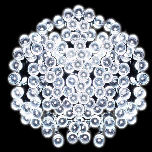 400 LED White Solar Fairy String...