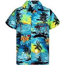 9fb6ea80f Amazon.es  camisa hawaiana hombre