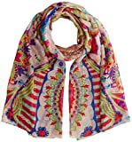 Desigual Foulard_vakiria Rectangle, Sciarpa Donna - Desigual - amazon.it