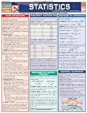 Statistics Laminate Reference Chart: Parameters, Variables, Intervals, Proportions (Quickstudy: Academic ) by BarCharts, Inc. (2005) Pamphlet