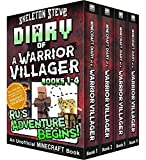 Diary of a Minecraft Warrior Villager - Box Set 1 - Ru's Adventure Begins (Books 1-4): Unofficial Minecraft Books for Kids, Teens, & Nerds - Adventure Fan Fiction Diary Series (English Edition)