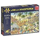 Jumbo Spiele 19059 - Jan Van Haasteren - Die Oase 1500 Teile