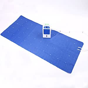 NCBH Water Cooling Mat Electric Water Mat Quick Mattress Cooler DC 12V Input Suitable for Indoor Travel Camping,A Car