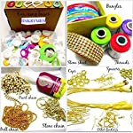 JINKRYMEN Silk Thread Jewelery,Making Fully Loaded Box with All Accessories
