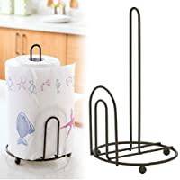 Worthy Shoppee Kitchen Paper Towel Holder, One-Handed Tear Paper Towel Container Bathroom Toilet Tissue Paper Roll…