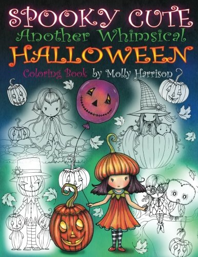 r Whimsical Halloween Coloring Book: Witches, Vampires, Kitties and More! ()