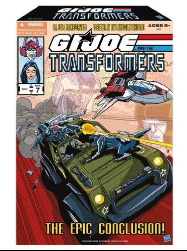 Die Epic Abschluss GI Joe and Transformers SDCC -