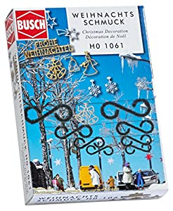Busch 1061 - Báscula de Navidad para decoración de Calle, Modelo HO