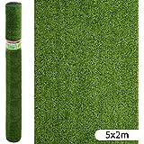 Césped artificial económico para terraza verde de plástico - Lola Derek