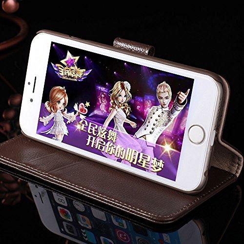 IPHONE 4 / 4G Cuir véritable Étui,EVERGREENBUYING - Litchi peau Étui [Béquille] Housse en Cuir iPhone4 Premium Etui de Protection Case Cover pour iPhone 4 / 4S Rouge Rose